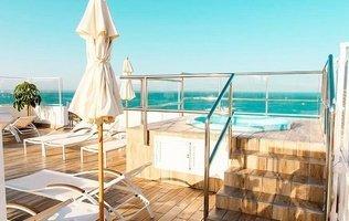 Jacuzzi - Sundeck Ocean View Hotel Coral Ocean View